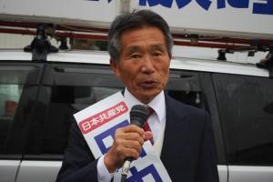 大船渡市議補選・田中氏