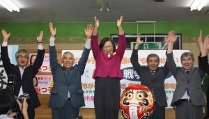 初当選の千田みつ子さん