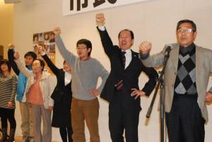 15年陸前高田市長選へ集会