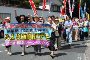 8月戦争法昼デモ